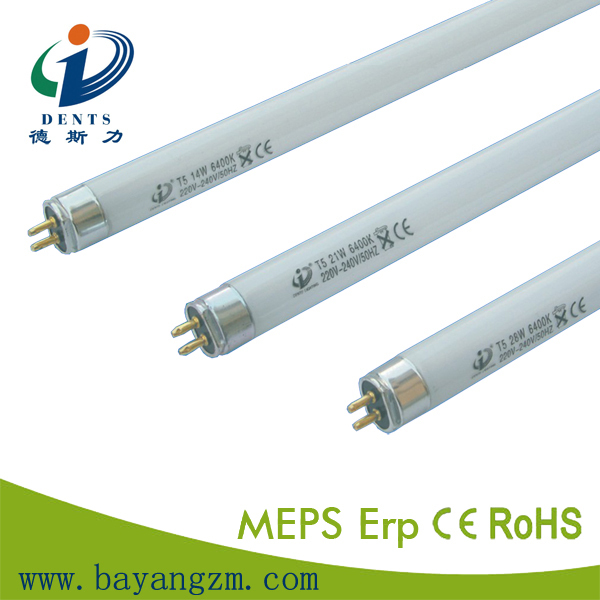 T5 fluorescent tube 840 warmlight energy save lamps