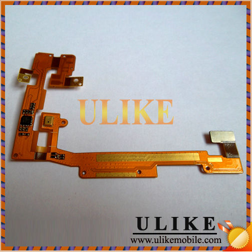 Flat cable ribbon For lg Optimus Sol E730 on off switch opening keypad microphone flex cable