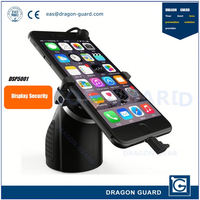 Mobile phone electronic display security stand & Phone display with charger & Alarming phone display