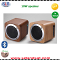 Small quantity accepted bluetooth wireless eco friendly bamboo wood mobile computer speakers wood BSW18