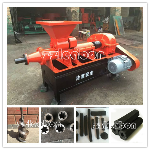 Charcoal rods briquette making machine Coal stick machine for sale