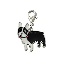 Pet Accessories Dog Tag Disc Collar lobster clip for Necklace metal jewelry making