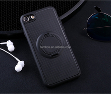 Hybrid Carbon Fiber TPU PC Case for Huawei P10 Lite, for Magnetic Car Mount Holder
