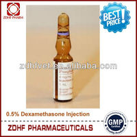 Animals medicine dexamethasone sodium injection 0.2% best quality