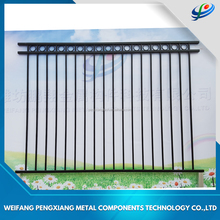 Customized colored aluminum fence security pool fence slat fencing panels