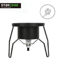 Outdoor Gas Cooker Propane High Pressure BBQ Grill