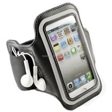 Wholesale fitness cell phone sport running belt clip armband phone case for iphone 7 7 plus