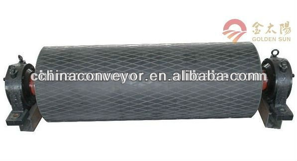 Belt conveyor drive pulley /Engine Pulley Removal