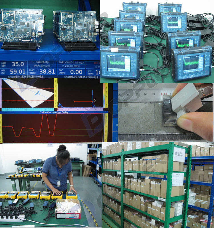 Guangzhou manufacturer ultrasonic crack test complete set
