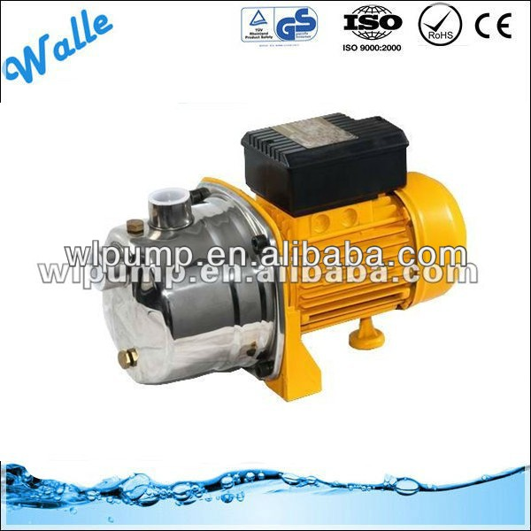 Stainless steel high pressure electric Jet self-priming water pump