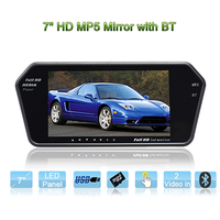 7 inch High brightness Rear view mirror car monitor for Van/camper/RV