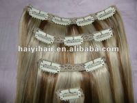 Nothing Mixed 22 Inch Clip In Human Hair Extensions