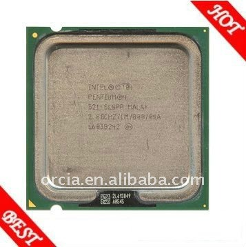 Latest Intel Pentium 4 Processor 520 used CPU