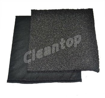 Washable activated carbon filter