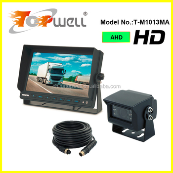 DC12V & 24V 960P 10.1'' AHD Truck Side Camera System