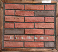 lightweight artificial stone tile landscape red brick prices