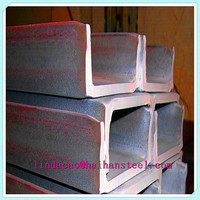 Galvanized U channel bar ,10mm thickness channel steel bar price