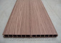 2017 new type modern luxury and cheaper wpc plastic wood floor