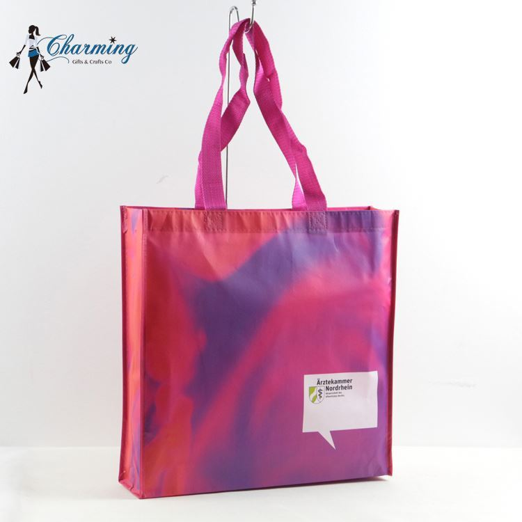 Top grade fashion non woven promotional bag cheap custom shopping bags
