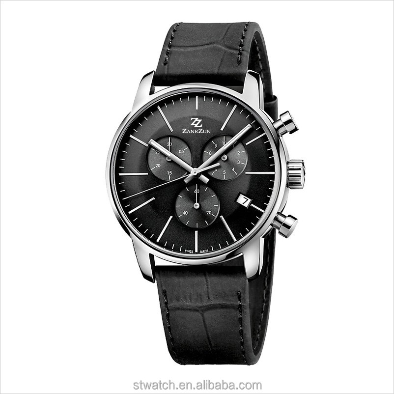 Custom various design multi-function watches own brand available business men watch