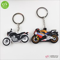 New factory price car shape soft pvc key chain