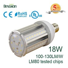 18W e26 e27 corn led cool internal driver and no fan better cooling