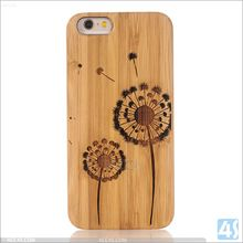 Newest Cheaper bamboo+pc case for iphone 5s wooden cell phone case
