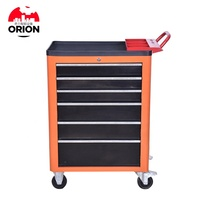 Mobile cnc tool cart metal drawer tool case trolley tool box with wheels