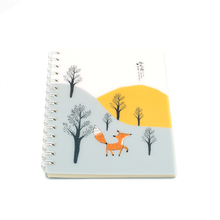 Wholesale school classmate hard cover spiral paper notebook