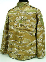 Tiger stripe desert camouflage BDU military tactical uniform