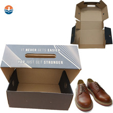 China Custom small Corrugated Shoes Display Carton Box For Shoes