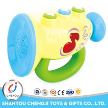 High qualtiy baby sounding toy musical plastic horn