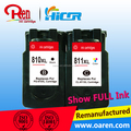 Refilling compatible Printer Ink Cartridges for canon 810XL remanufactured inkjet ink cartridge