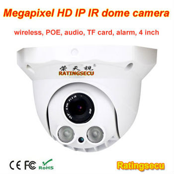 2017 wireless ip indoor dome cctv camera with onvif p2p