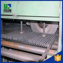 Hot dip galvanized serrated steel flat bar twisted square bar grating
