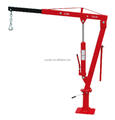 2000LBS hydraulic jack shop crane with winch