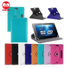 Manufacturer Wholesale Cheap Universal 360 Degree Rotating Stand PU Leather Case for Samsung Note 10.1 2014 Edition P600 Tablet