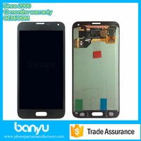 12 months warranty replacement lcd screen for samsung galaxy s5
