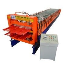 renown manufacturing job double layer roll forming machinery for ibr and corrugated roof sheet