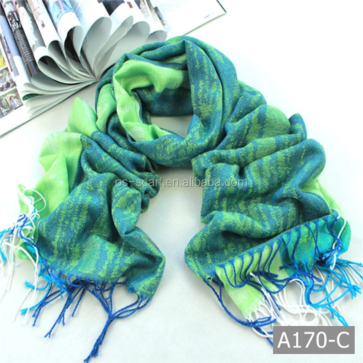 A170 Beautiful hot sale jacquard scarf knitting machine