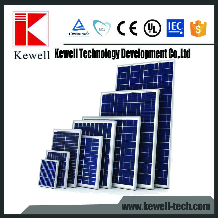 poly solar panels for sale 36cells 150w 18v 12v used in off grid solar system