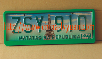 Plastic(PP ABS) License Plate Frame