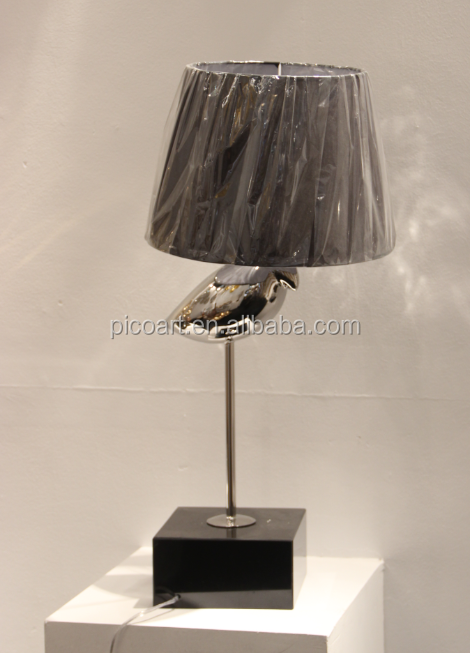 Customized lamp art new products stainless teel lamp art for decorating