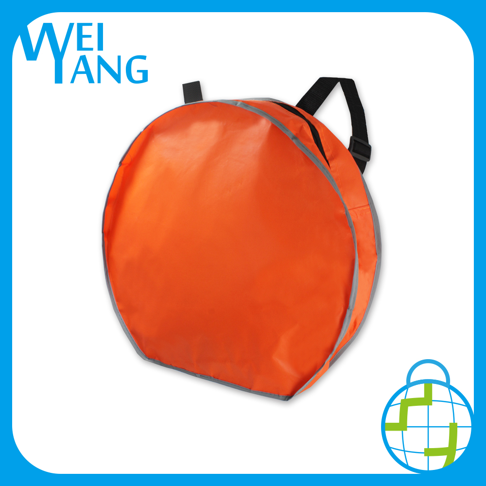 Non Woven custom logo foldable shopping hand polyester gusset bag shoe