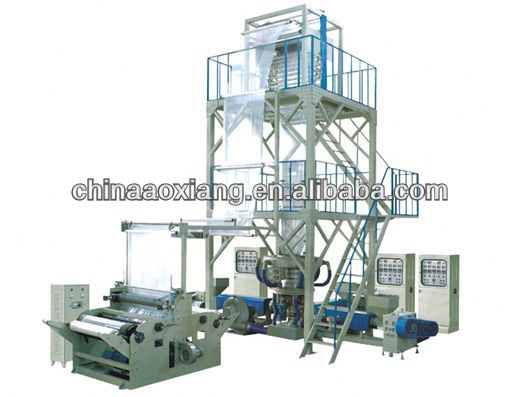 blown film PE Double-layer Co-extrusion Stretch Film Machine used blow moulding plastic extrusion blow moulding machine