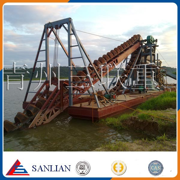 New Bucket Chain Gold Dredger for sale