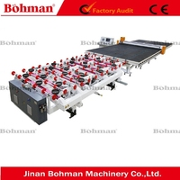 Automatic CNC Shaped Glass Cutting Table
