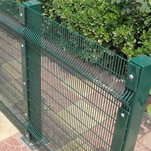 Alibaba china factory gray color anti-climb fence 358 anti climb security fence price