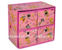 attractive small wooden drawer storage box