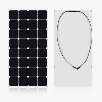 2019 hot sale high efficiency  flexible solar panel 100w with good quality